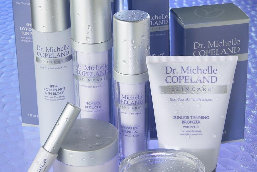 Dr. Michelle Copeland packaging design